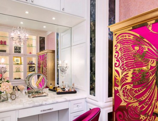 How to Use Bold Colors In your Bathroom Decoration How to Use Bold Colors In your Bathroom Decoration mademoiselle armoire nessa chair koket projects 600x460