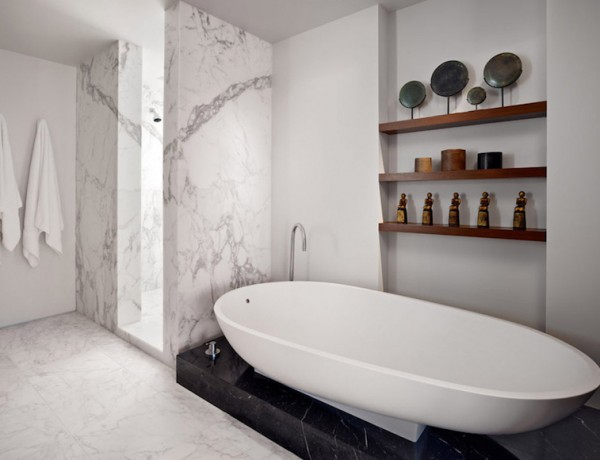 10 Marble Bathroom Design Ideas to Inspire You. To see more Luxury Bathroom ideas visit us at www.luxurybathrooms.eu #luxurybathrooms #homedecorideas #bathroomideas