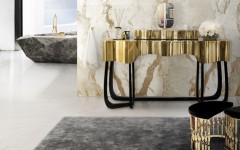 Choose the Perfect Rug for Your Luxury Bathroom. To see more Luxury Bathroom ideas visit us at www.luxurybathrooms.eu #luxurybathrooms #homedecorideas #bathroomideas @BathroomsLuxury