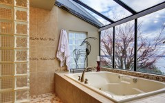 Luxury Bathrooms with Stunning Skylights. To see more Luxury Bathroom ideas visit us at www.luxurybathrooms.eu #luxurybathrooms #homedecorideas #bathroomideas @BathroomsLuxury Luxury Bathrooms with Stunning Skylights Luxury Bathrooms with Stunning Skylights luxury bathrooms with stunning skylights cover 240x150