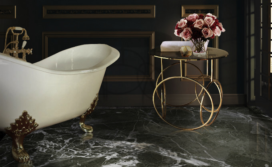 10 amazing side table design ideas for luxury bathrooms - Amazing luxury bathroom designs inspirations ...