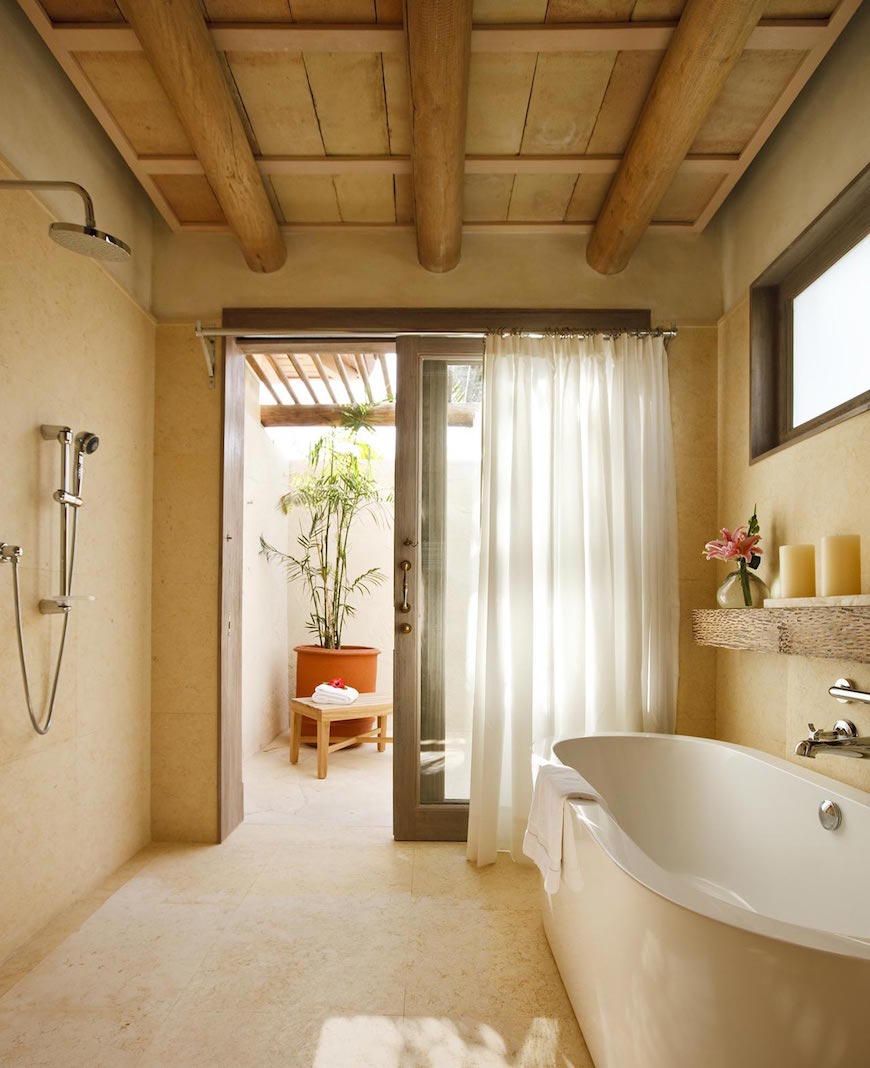 Bathroom Ideas: 10 Astonishing Tropical Bathroom Ideas That You Must See Today
