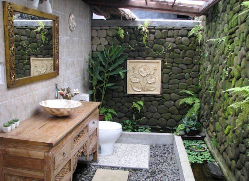 10 Eye Catching Tropical Bathroom Décor