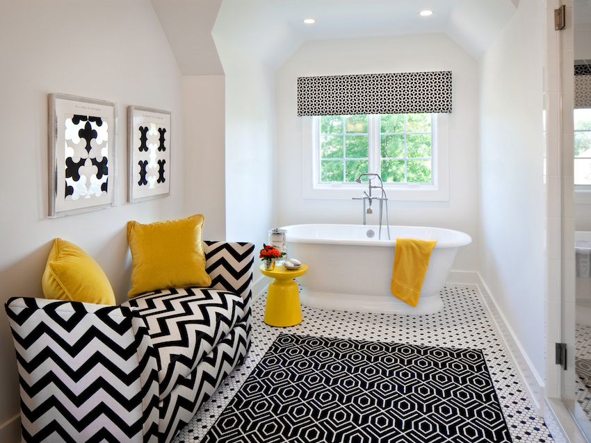 10 Eye-Catching and Luxurious Black and White Bathroom Ideas ➤To see more Luxury Bathroom ideas visit us at www.luxurybathrooms.eu #luxurybathrooms #homedecorideas #bathroomideas @BathroomsLuxury black and white bathroom ideas 10 Eye-Catching and Luxurious Black and White Bathroom Ideas 10 Eye Catching and Luxurious Black and White Bathroom Ideas 10
