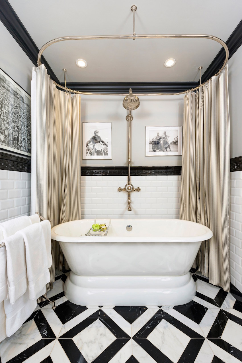 black white bathrooms ideas 10 eye catching and luxurious black and white bathroom ideas 23164