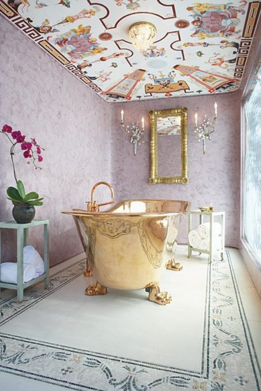 10 Glamorous Luxury Bathrooms with Golden Touch ➤To see more Luxury Bathroom ideas visit us at www.luxurybathrooms.eu #luxurybathrooms #homedecorideas #bathroomideas @BathroomsLuxury 10 Glamorous Luxury Bathrooms with Golden Touch 10 Glamorous Luxury Bathrooms with Golden Touch 10 Glamorous Luxury Bathrooms with Golden Touch 3