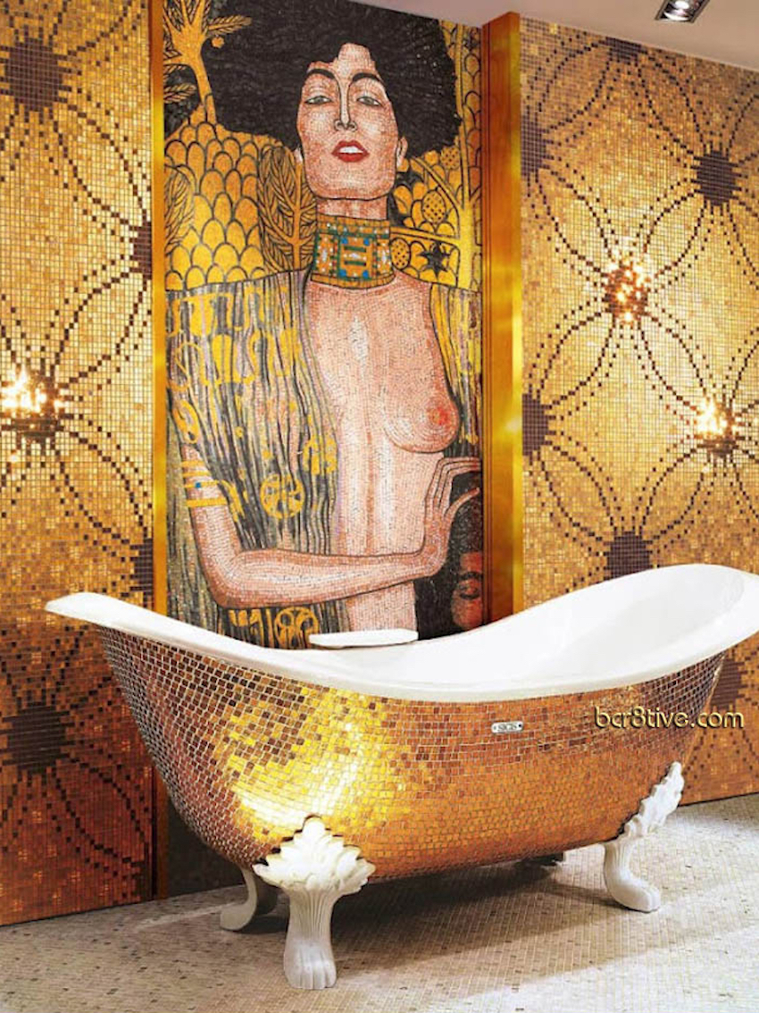 10 Glamorous Luxury Bathrooms with Golden Touch ➤To see more Luxury Bathroom ideas visit us at www.luxurybathrooms.eu #luxurybathrooms #homedecorideas #bathroomideas @BathroomsLuxury 10 Glamorous Luxury Bathrooms with Golden Touch 10 Glamorous Luxury Bathrooms with Golden Touch 10 Glamorous Luxury Bathrooms with Golden Touch 5