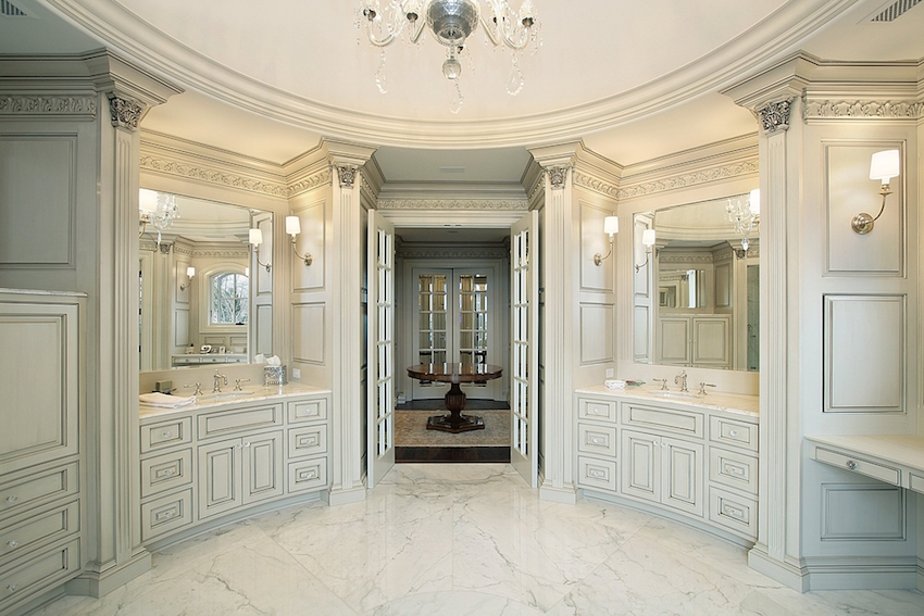 title | Luxurious master bathrooms