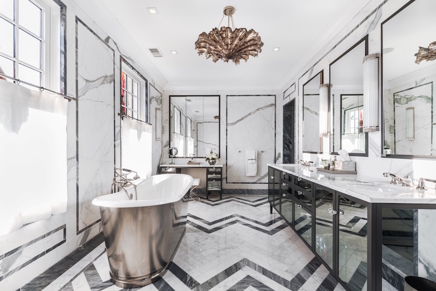 black and white marble bathrooms 10 sumptuous marble luxury bathrooms that will fascinate you 22746