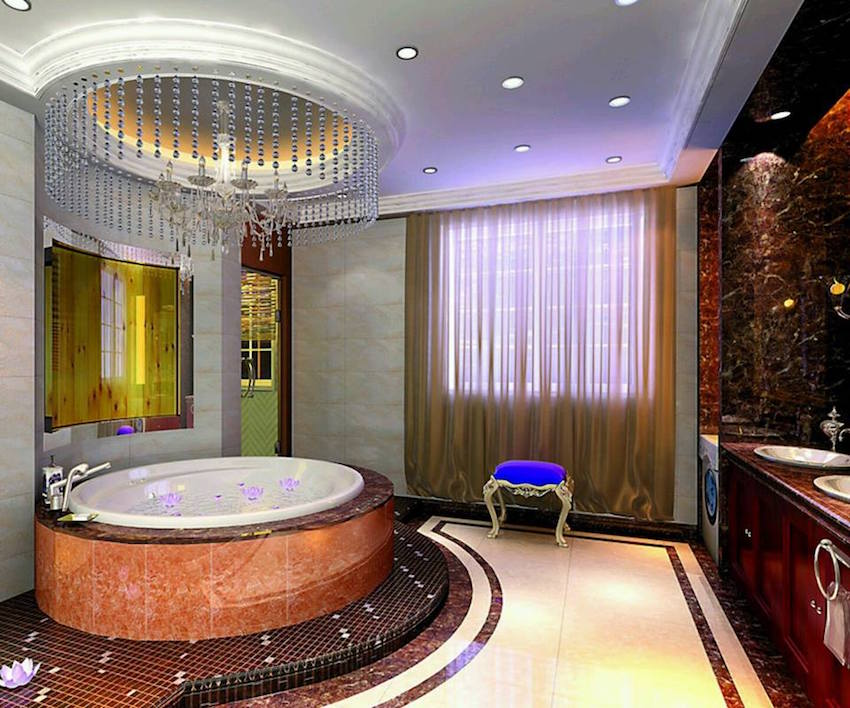 luxury bathroom design 50 magnificent luxury master bathroom ideas part 3 14071