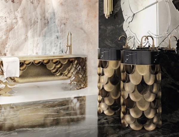 50 Magnificent Master Bathroom Ideas (part 1) ➤To see more Luxury Bathroom ideas visit us at www.luxurybathrooms.eu #luxurybathrooms #homedecorideas #bathroomideas @BathroomsLuxury