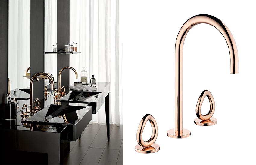 Luxury bathrooms rose gold is design trend for Bathroom design visit