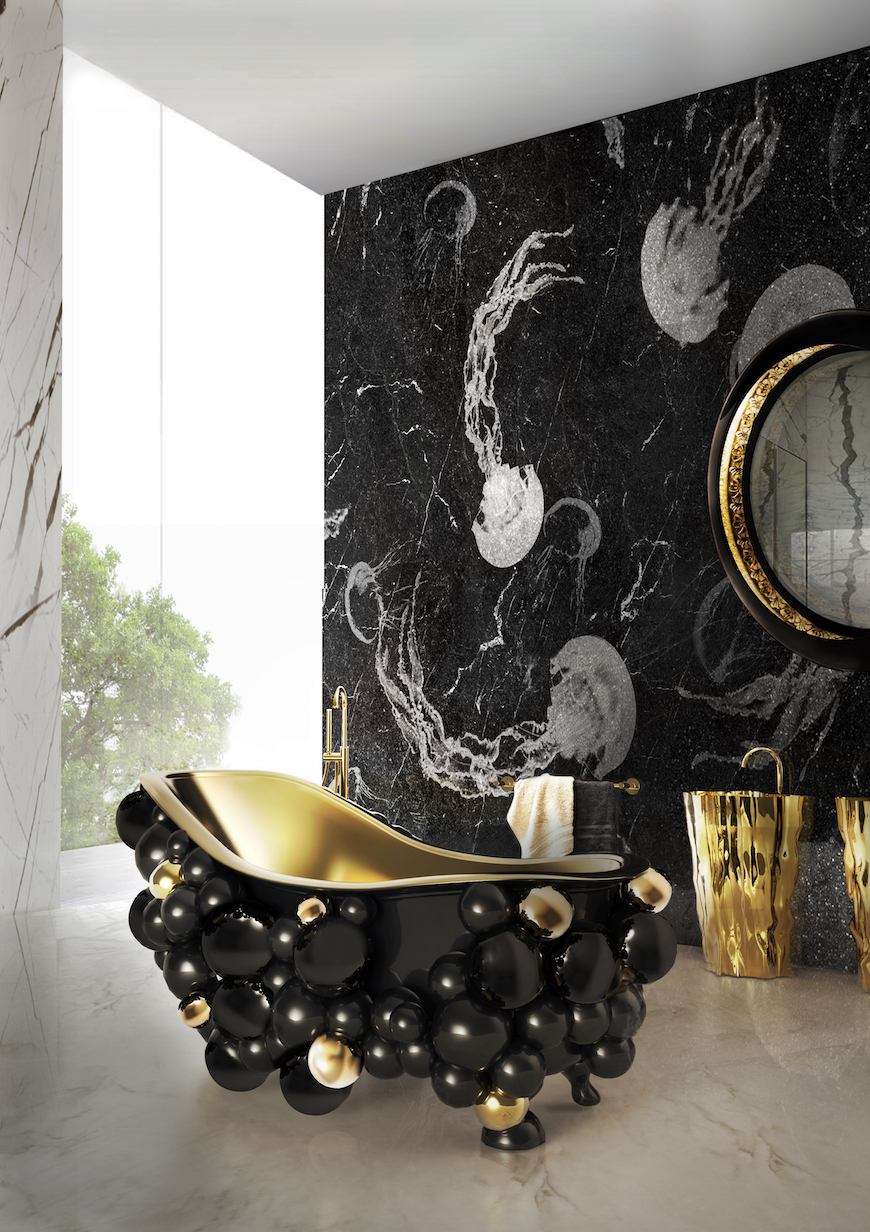 10 Striking Luxurious Bathtubs that Completely Steal the Scene ➤To see more Luxury Bathroom ideas visit us at www.luxurybathrooms.eu #luxurybathrooms #homedecorideas #bathroomideas @BathroomsLuxury Luxurious Bathtubs 10 Striking Luxurious Bathtubs that Completely Steal the Scene 10 Striking Bathtubs that Completely Steal the Scene 1