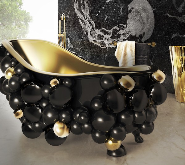 10 Striking Luxurious Bathtubs that Completely Steal the Scene ➤To see more Luxury Bathroom ideas visit us at www.luxurybathrooms.eu #luxurybathrooms #homedecorideas #bathroomideas @BathroomsLuxury