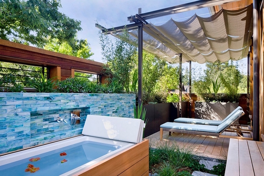 10 Breathtaking Outdoor Bathroom Designs That You Gonna Love ➤To see more Luxury Bathroom ideas visit us at www.luxurybathrooms.eu #luxurybathrooms #homedecorideas #bathroomideas @BathroomsLuxury outdoor bathroom designs 10 Breathtaking Outdoor Bathroom Designs That You Gonna Love 10 Breathtaking Outdoor Bathroom Ideas That You Gonna Love 7