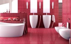 10 Smashing Bold Colorful Bathrooms That You Will Covet ➤To see more Luxury Bathroom ideas visit us at www.luxurybathrooms.eu #luxurybathrooms #homedecorideas #bathroomideas @BathroomsLuxury colorful bathrooms 10 Smashing Bold Colorful Bathrooms That You Will Covet 10 Smashing Bold Colorful Bathrooms That You Will Covet 240x150