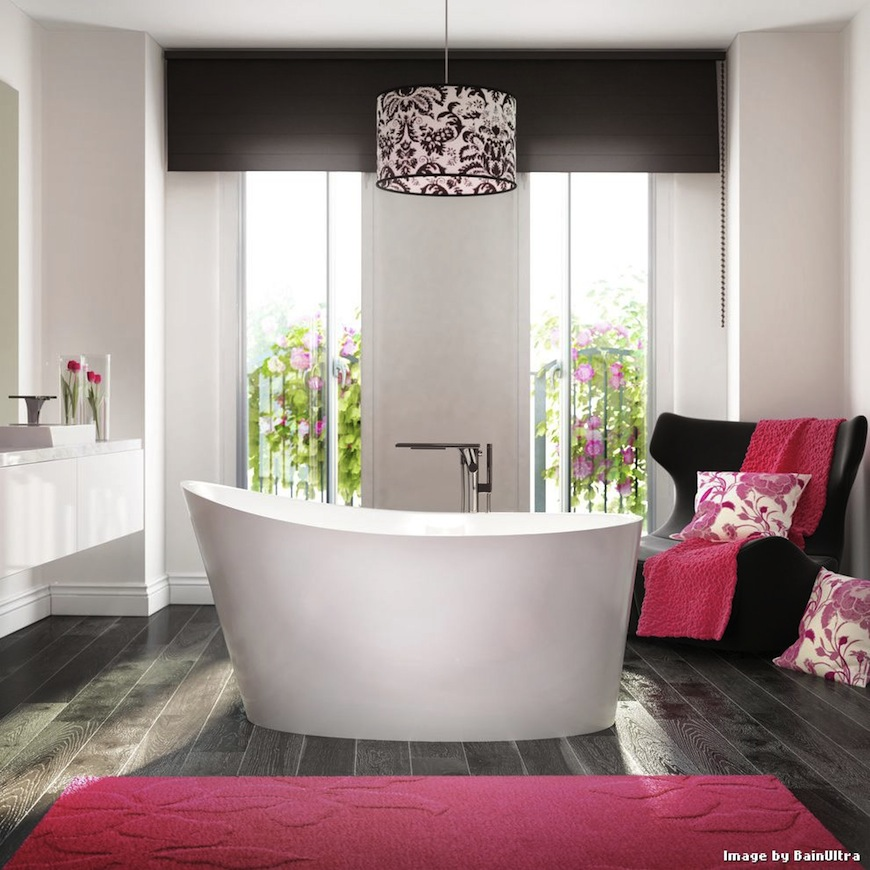 5 Amazing Ways to Get a Colorful Bathroom ➤To see more Luxury Bathroom ideas visit us at www.luxurybathrooms.eu #luxurybathrooms #homedecorideas #bathroomideas @BathroomsLuxury