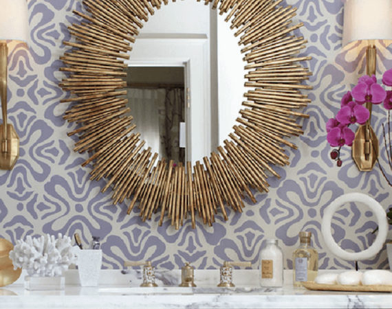 7 Amazing Bathroom Mirror Ideas to Inspire You ➤To see more Luxury Bathroom ideas visit us at www.luxurybathrooms.eu #luxurybathrooms #homedecorideas #bathroomideas @BathroomsLuxury