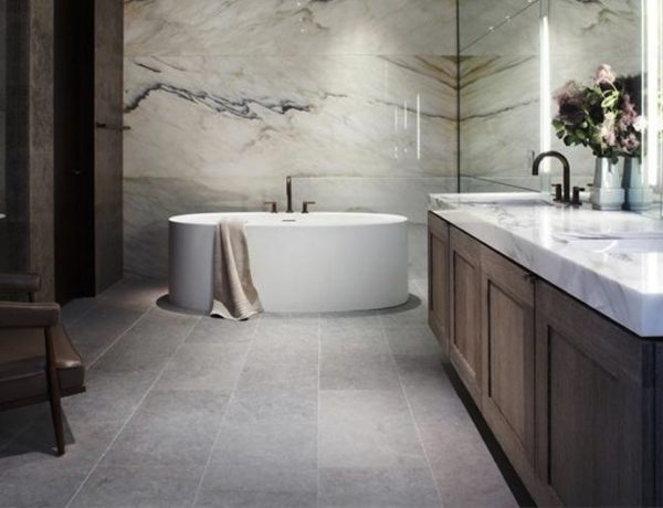 10 Stunning Transitional Bathroom Design Ideas to Inspire You ➤To see more Luxury Bathroom ideas visit us at www.luxurybathrooms.eu #luxurybathrooms #homedecorideas #bathroomideas @BathroomsLuxury transitional bathroom design ideas 10 Stunning Transitional Bathroom Design Ideas to Inspire You 10 Stunning Transitional Bathroom Design Ideas to Inspire You 600x460