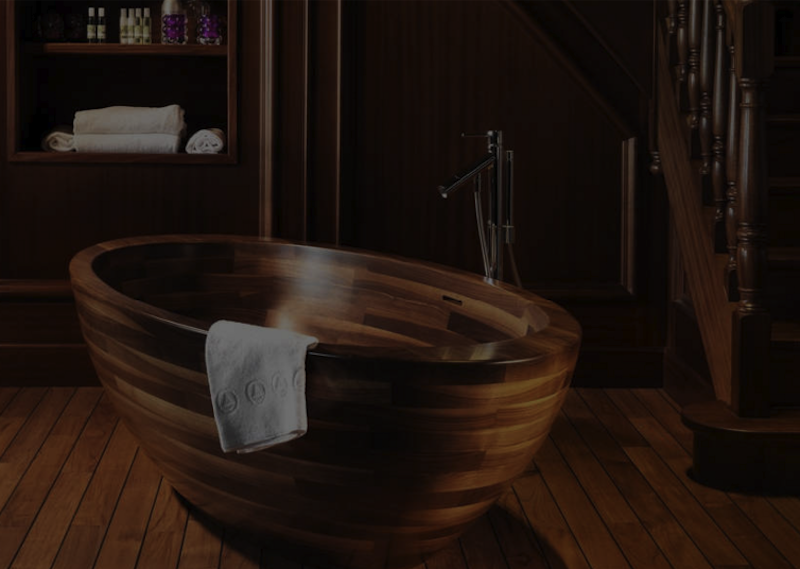 Stunning Wooden Bathtub Ideas for Your Luxury Bathroom ➤To see more Luxury Bathroom ideas visit us at www.luxurybathrooms.eu #luxurybathrooms #homedecorideas #bathroomideas @BathroomsLuxury wooden bathtub ideas Stunning Wooden Bathtub Ideas for Your Luxury Bathroom Stunning Wooden Bathtub Ideas for Your Luxury Bathroom 800x569 isabel lópez-quesada Meet Isabel López-Quesada And Her Famous Luxury Design Projects Stunning Wooden Bathtub Ideas for Your Luxury Bathroom 800x569