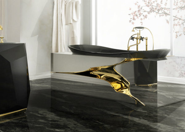 luxury bathroom decoration Celebrity's luxury bathroom decoration lapiaz bathtub 4 feat 600x426