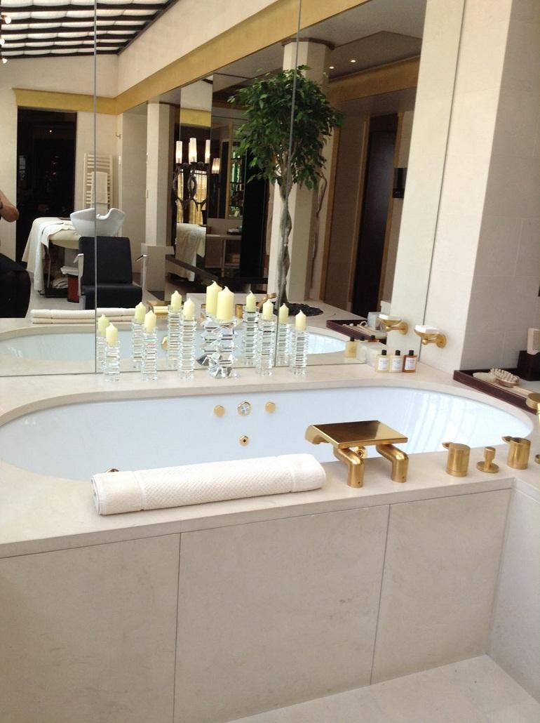 most incredible hotel bathrooms