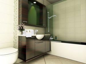 how to decorate small luxury bathrooms with modern design