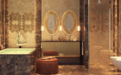 Meet the stunning top 8 millionaire bathrooms in the world ➤To see more Luxury Bathroom ideas visit us at www.luxurybathrooms.eu #luxurybathrooms #homedecorideas #bathroomideas @BathroomsLuxury