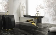 Outstanding Top 10 Black Luxury Bathroom Design Ideas ➤To see more Luxury Bathroom ideas visit us at www.luxurybathrooms.eu #luxurybathrooms #homedecorideas #bathroomideas @BathroomsLuxury luxury bathroom design ideas Outstanding Top 10 Black Luxury Bathroom Design Ideas feat 3 240x150