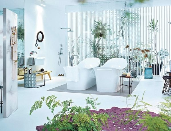Be Inspired by the Best Spring Ideas for Luxury Bathrooms ➤To see more Luxury Bathroom ideas visit us at www.luxurybathrooms.eu #luxurybathrooms #homedecorideas #bathroomideas @BathroomsLuxury