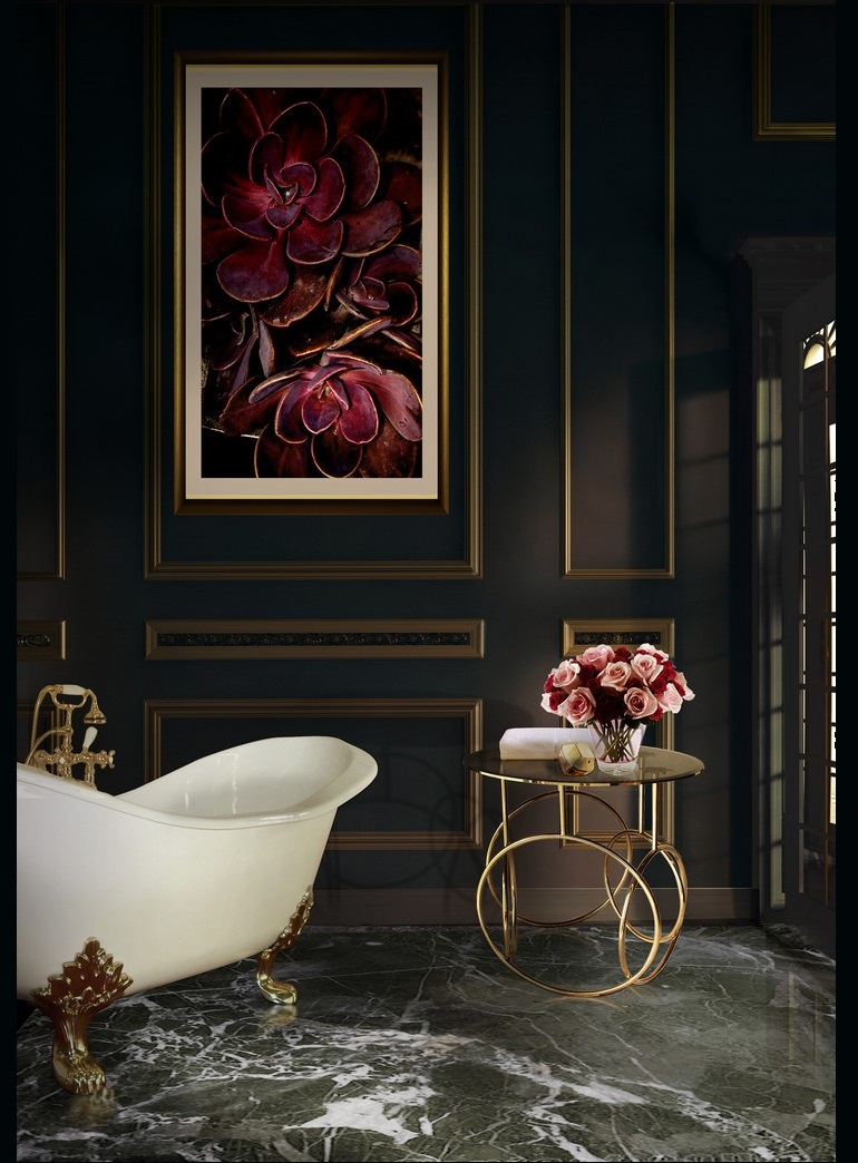 Luxury Bathrooms: Tips and Tricks: Luxurious Accessories for Stunning Environments luxurious accessories Tips and Tricks: Luxurious Accessories for Stunning Environments kiki side table koket projects