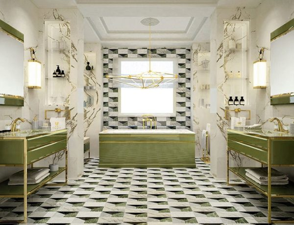 pantone of the year 2017 Bathroom Decoration With Greenery, Pantone Of The Year 2017 2 1 600x460