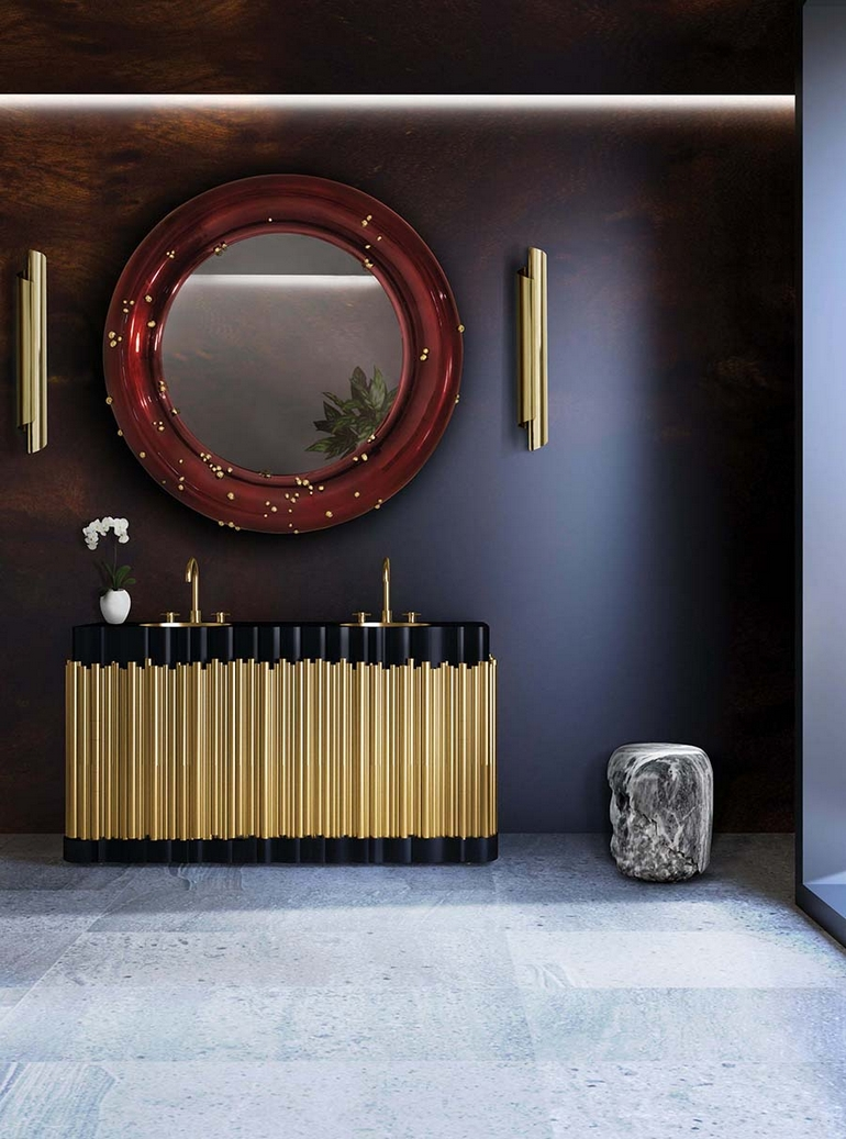 Bathroom Mirror Trends 2017 inspiring interior design trends 2017 for luxury bathrooms