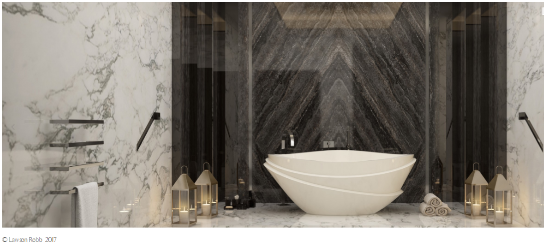 Explore The Most Decadent Luxury Bathrooms by Lawson Robb ➤To see more Luxury Bathroom ideas visit us at www.luxurybathrooms.eu #bathroom #homedecorideas #bathroomideas @BathroomsLuxury