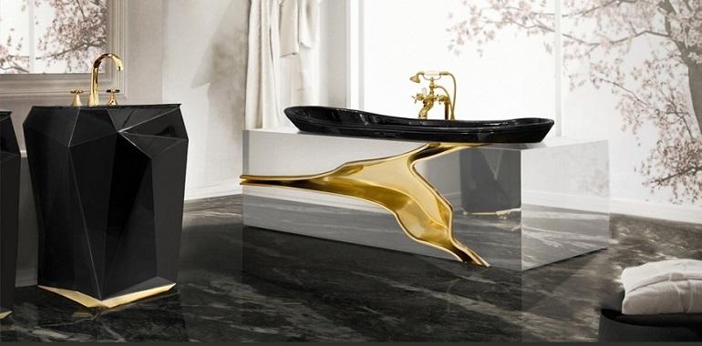 Luxury Bathroom Decor bathroom decor ideas for a dark and luxury interior design