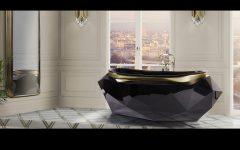 luxury bathrooms decor ideas Be Inspired By 5 Most Luxury Bathrooms Decor Ideas diamond bathtub 6 240x150