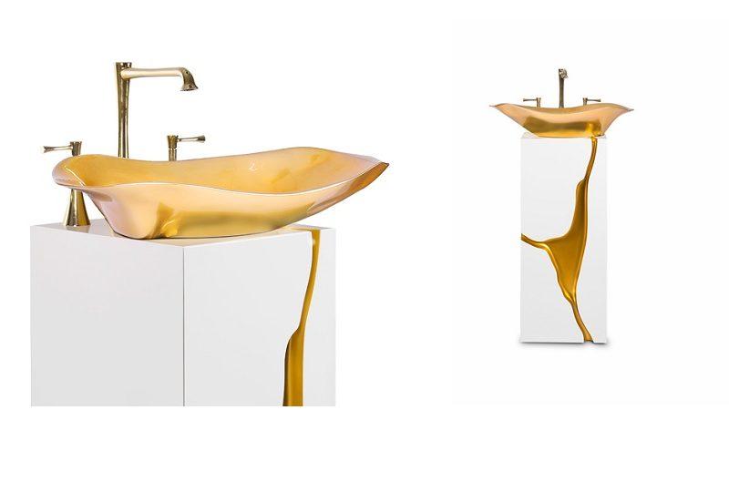 5 Amazing Single Washbasins To Make Luxury Bathrooms Sparkle ➤ To see more news about Luxury Bathrooms in the world visit us at http://luxurybathrooms.eu/ #luxurybathrooms #interiordesign #homedecor @BathroomsLuxury @bocadolobo @delightfulll @brabbu @essentialhomeeu @circudesign @mvalentinabath @luxxu @covethouse_