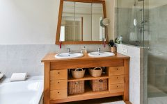 how to decorate your luxury bathroom How To Decorate Your Luxury Bathroom With Wood feat 7 240x150
