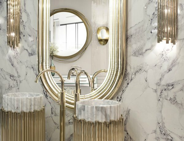 How To Add Glamour To Luxury Bathrooms With Gold Decor Ideas ➤ To see more news about Luxury Bathrooms in the world visit us at http://luxurybathrooms.eu/ #luxurybathroom #interiordesign #homedecor @BathroomsLuxury @bocadolobo @delightfulll @brabbu @essentialhomeeu @circudesign @mvalentinabath @luxxu @covethouse_ luxury bathrooms How To Add Glamour To Luxury Bathrooms With Gold Decor Ideas feat 8 600x460