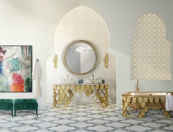Be Inspired By Beautiful Moroccan Bathroom Decor Ideas ➤ To see more news about Luxury Bathrooms in the world visit us at http://luxurybathrooms.eu/ #luxurybathrooms #interiordesign #homedecor @BathroomsLuxury @bocadolobo @delightfulll @brabbu @essentialhomeeu @circudesign @mvalentinabath @luxxu @covethouse_ Moroccan Bathroom Decor Ideas Be Inspired By Beautiful Moroccan Bathroom Decor Ideas feat 1 600x460