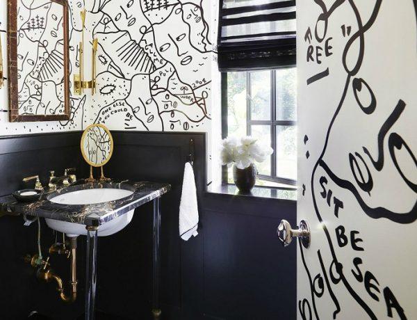 Black And White Luxury Bathroom 16 Black And White Luxury Bathroom Design Ideas feat2 600x460