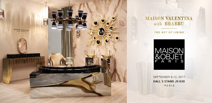 Luxury Bathrooms Previews What To Expect From Maison et Objet 2017 ➤ To see more news about Luxury Bathrooms in the world visit us at http://luxurybathrooms.eu/ #luxurybathrooms #interiordesign #homedecor @BathroomsLuxury @bocadolobo @delightfulll @brabbu @essentialhomeeu @circudesign @mvalentinabath @luxxu @covethouse_