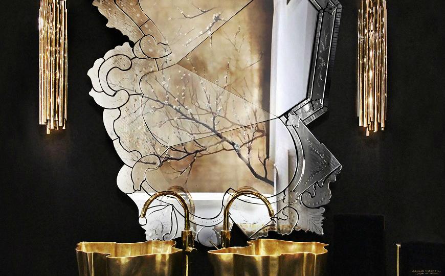 10 amazing mirrors for luxury bathrooms interior design - Amazing luxury bathroom designs inspirations ...