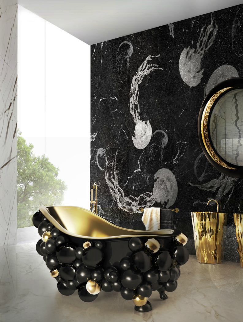 Be Inspired By 10 Timeless Luxury Bathroom Ideas ➤ To see more news about Luxury Bathrooms in the world visit us at http://luxurybathrooms.eu/ #luxurybathrooms #interiordesign #homedecor @BathroomsLuxury @bocadolobo @delightfulll @brabbu @essentialhomeeu @circudesign @mvalentinabath @luxxu @covethouse_