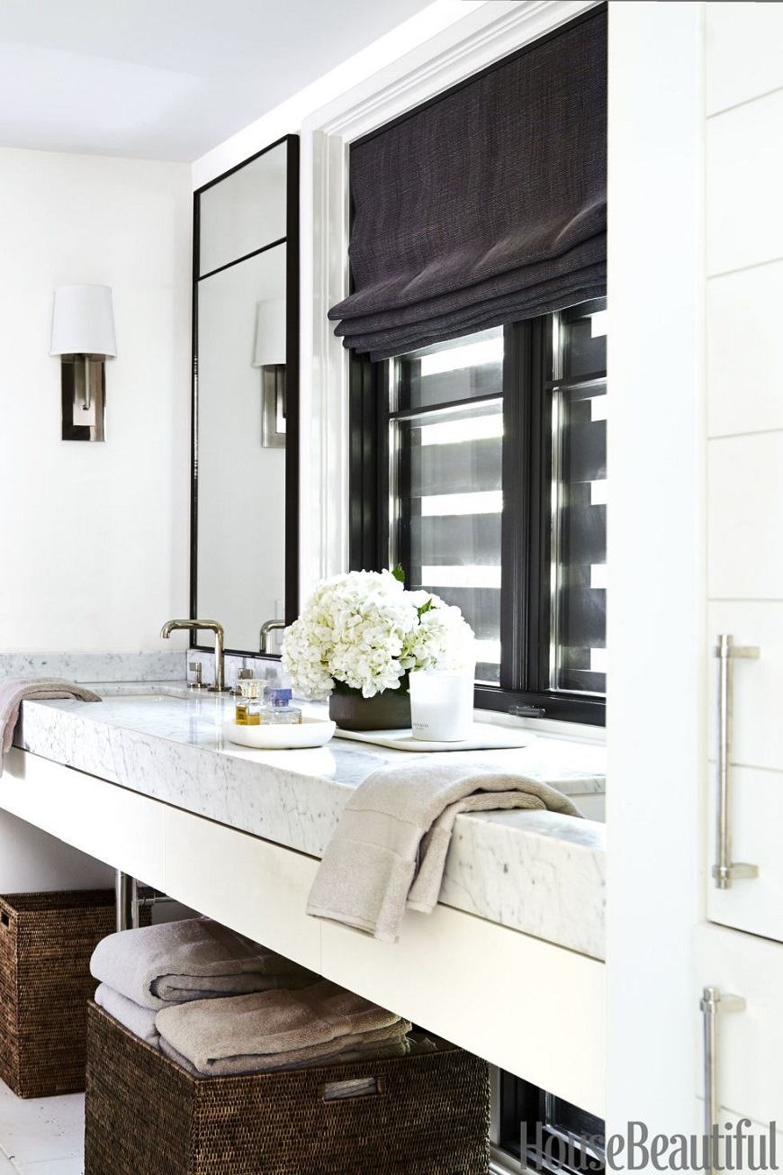 12 White Bathrooms For Every Luxury Bathroom Decor Style on White Bathroom Design Ideas  id=68699