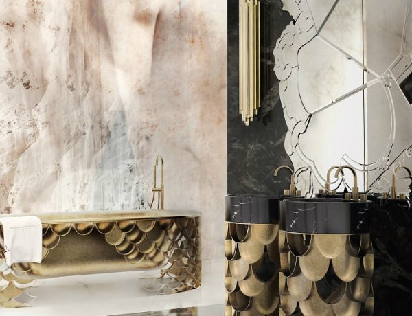 Bathrooms With Metallic Accents Be Inspired By Astonishing Luxury Bathrooms With Metallic Accents Be Inspired By Astonishing Luxury Bathrooms With Metallic Accents feat 1 600x460