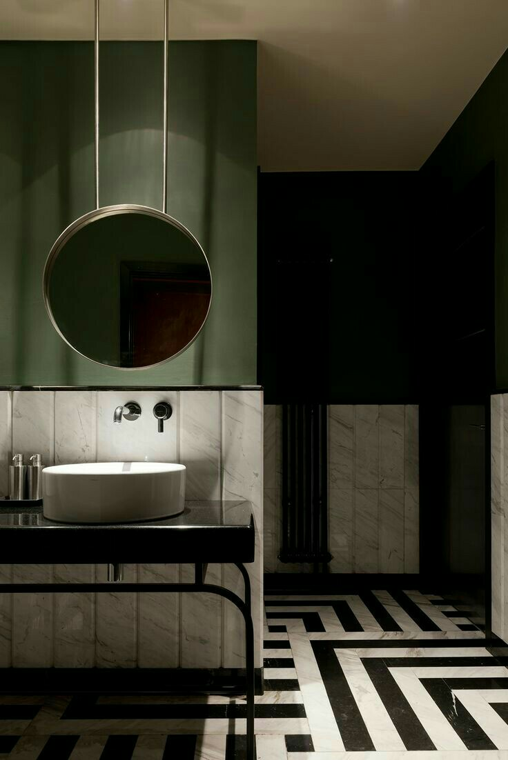 Olive Green Bathroom Decorating Ideas For Your Luxury 8 Decor