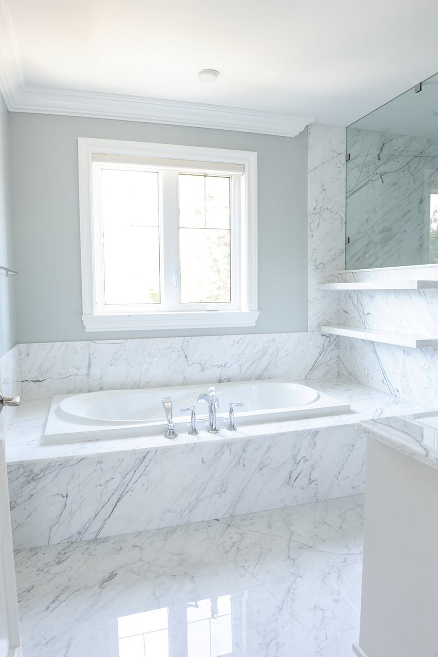 Creating The Perfect Spa-like Bathroom With Decadent Marble Bathtubs