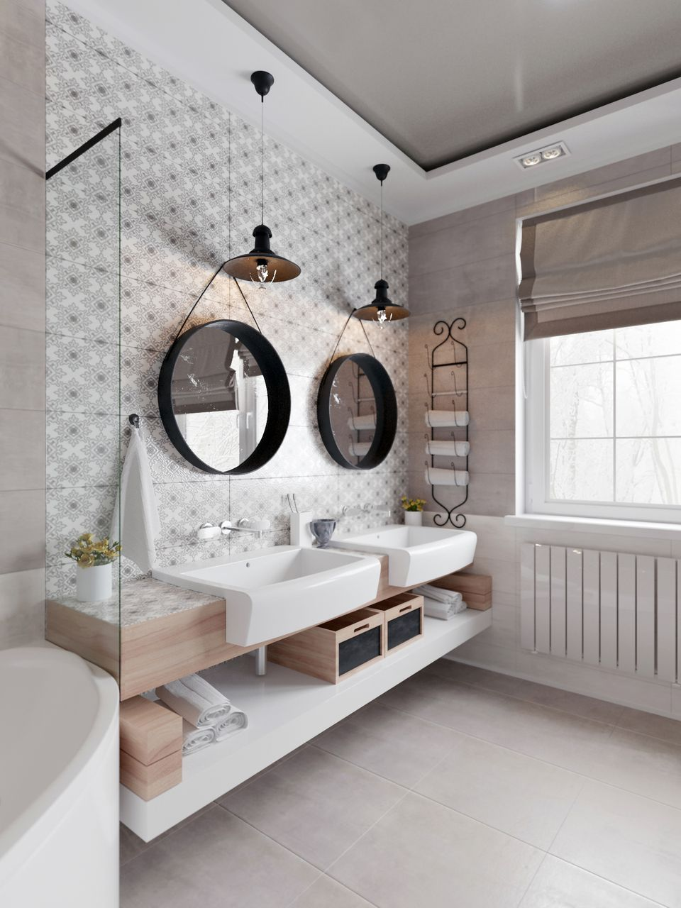 11 Mesmerizing Scandinavian Bathroom Design Ideas ➤ To See More News About  Luxury Bathrooms In The