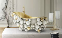 all-white bathrooms Discover The Finest Selection Of 30 All-White Bathrooms – Part 1 13 newton bathtub eden towel rack venice mirror tiffany stool maison valentina 1 feat 240x150